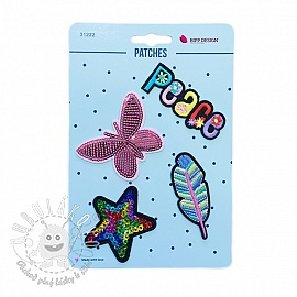 Sticker BIPP Peace Butterfly