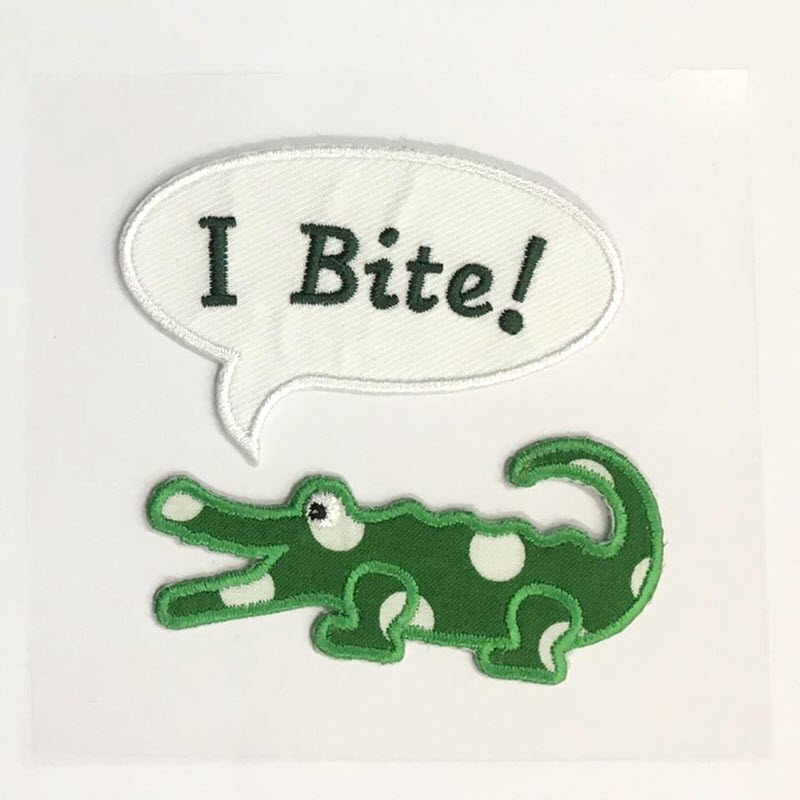 Sticker BASIC I Bite Crocodile